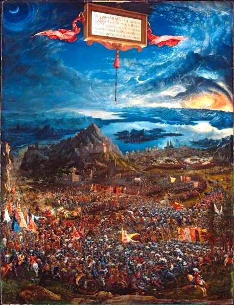 Monaco di Baviera, Alte Pinakothek, Pinacoteca vecchia, Albrecht Altdorfer, Alexanderschlacht, pintura, renaissance, galleria, visita, museo